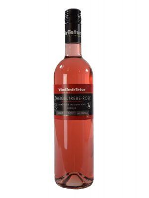 Zweigeltrebe rosé 2017, akostné víno, Vinárstvo Vladimír Tetur