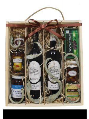 Dárková krabice s vínem  VELKÁ