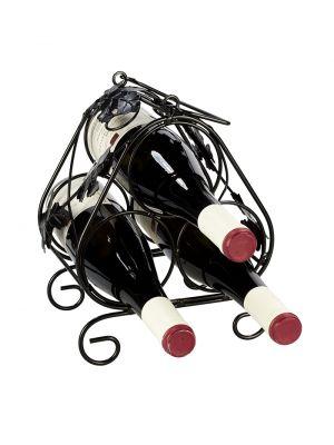 Stojan na víno na 3 fľaše - STOV