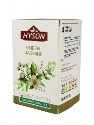 Hyson - Zelený čaj s jazmínom