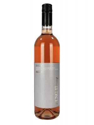 Cabernet Sauvignon rosé, kabinet 2017, Vinařství Janův sklep