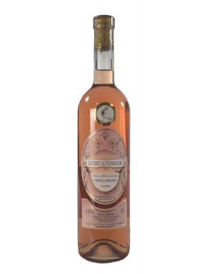 Cabernet Sauvignon rosé 2015, výber z hrozna, Vinárstvo Krist Tomáš