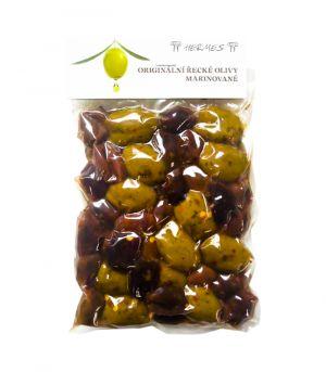 Originálne grécke olivy, marinované, D.M.Hermes