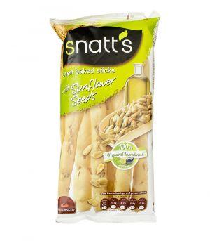 Chlebové tyčinky so slnečnicovými semienkami a olivovým olejom, Snatts, Grefusa, Španielsko