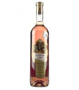 Frankovka rosé, zemské víno, Vinárstvo Krist Tomáš