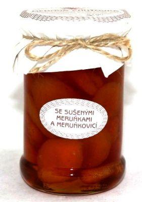 Medová chuťovka, so sušenými marhuľami a marhuľovicou, Antonín Škoda