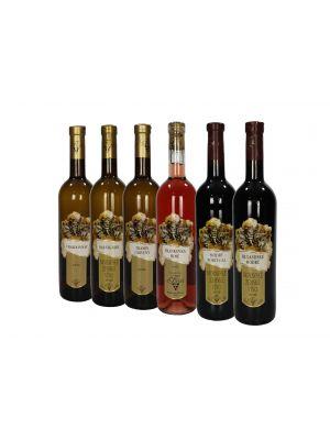 Degustácia vín, Vinárstvo Krist 6 fliaš