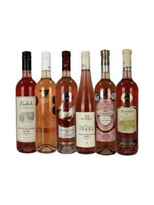 Degustační set růžových vín