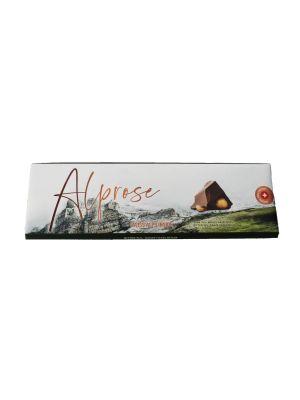 Premium horká čokoláda s celými lieskovými orechmi, Chocolat Alprose
