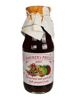 Mušt - MAURER-Červené ríbezle s jablkom