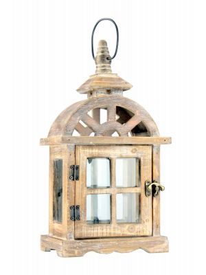 Drevený lampáš - LT0033bm