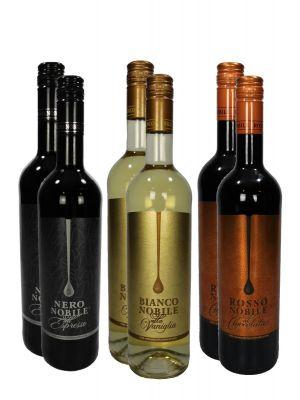 Vinný set Čokoláda, Káva, Vanilka
