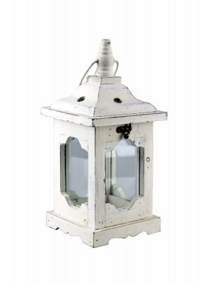 Drevený lampáš - LT0035wm