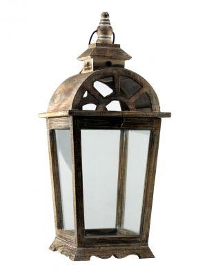 Drevený lampáš - LT0036bv