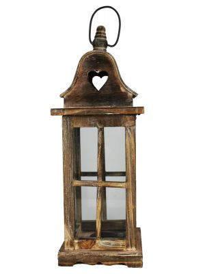 Drevený lampáš - LT0031bm