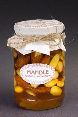 Medová pochúťka s orechmi, Mandle, Antonín Škoda