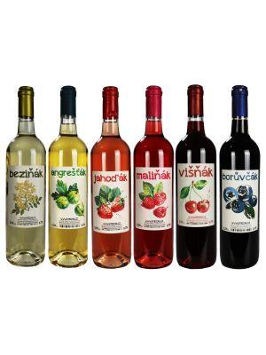 Set ovocných vín