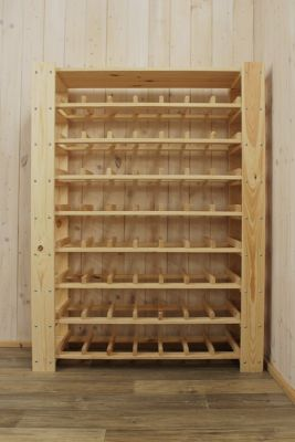 Stojan na víno na 56 fliaš - RV5