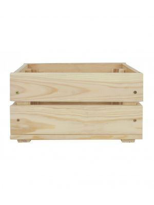 Drevená bednička  39x29,3x16,4 cm