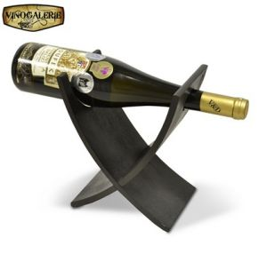 Stojan na víno na 1 fľašu - Lazur palisander