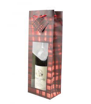 Taška na víno - OKIENKO KÁRO