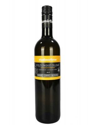 Veltlínské zelené, jakostní 2017, Vinařství Tetur