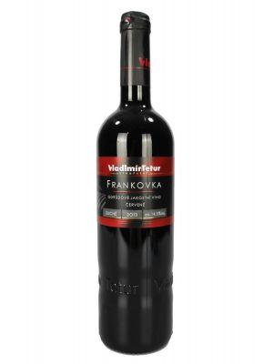 Frankovka, odrůdové jakostní 2013, Vinařství Tetur