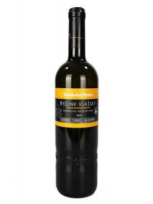 Ryzlink Vlašský, jakostní víno 2017, Vinařství Tetur