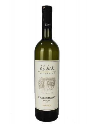 Chardonnay, pozdní sběr 2016, Vinařství Kubík